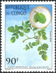 Congo stamp - moringa leaves