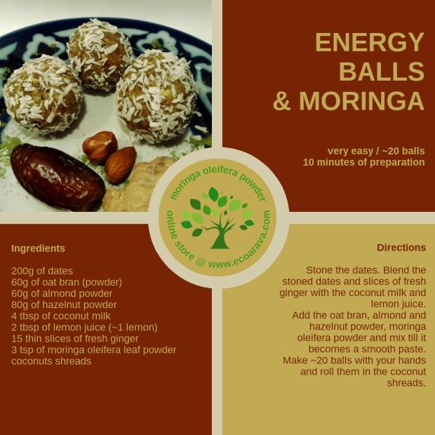 energy balls & moringa