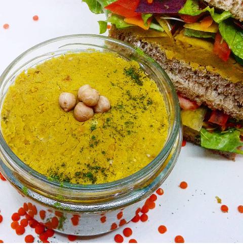 peas&lentils spread & moringa